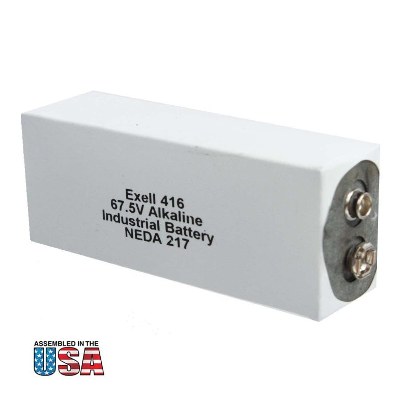 """Photo of Exell Battery """"416A"""" 67.5V Alkaline Battery"""