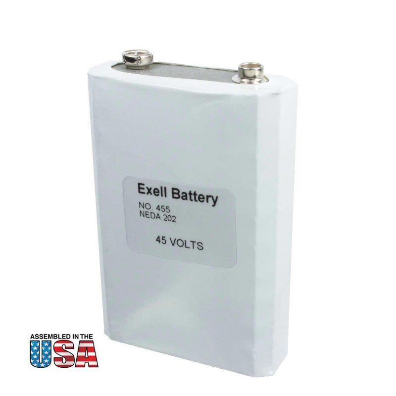 """Photo of Exell Battery """"455"""" 45V Alkaline Battery"""