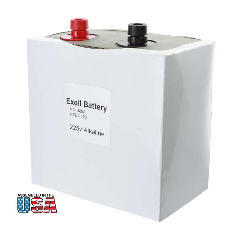 """Photo of Exell Battery """"489A"""" 225V Alkaline Battery"""