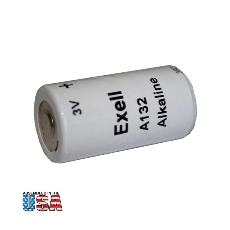 """Photo of Exell Battery """"A132"""" 3V Alkaline Battery"""