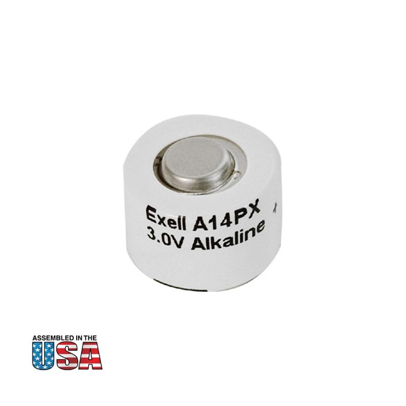 """Photo of Exell Battery """"A14PX"""" 3V Alkaline Battery"""