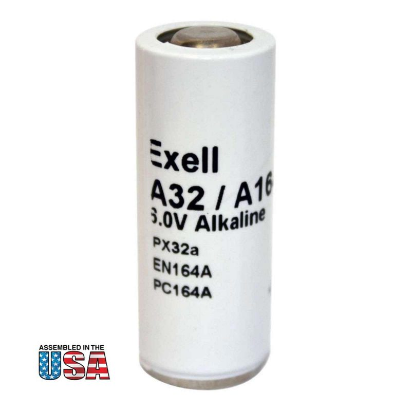 """Photo of Exell Battery """"A32PX"""" 6V Alkaline Battery"""