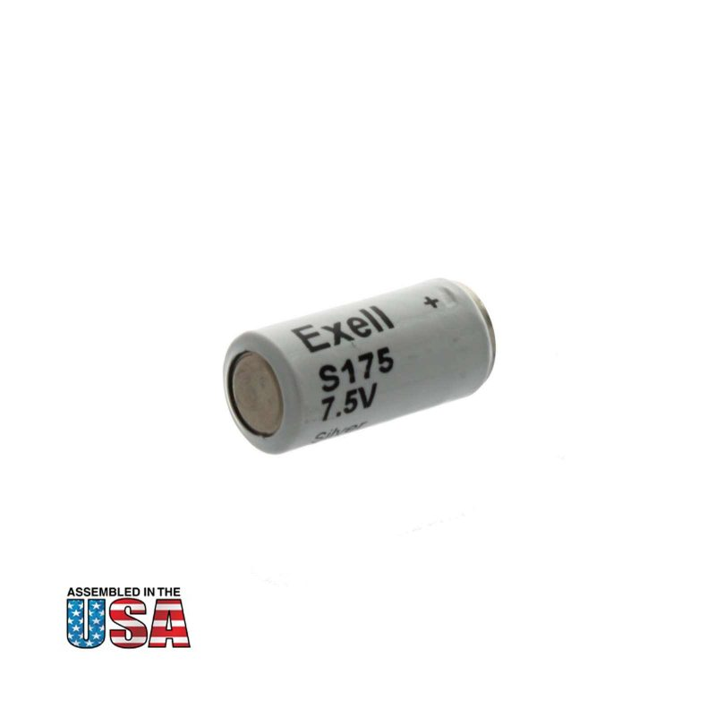 """Photo of Exell Battery """"S175"""" 7.5V Silver Oxide Battery"""