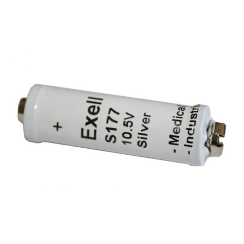 "Photo of Exell Battery ""S177"" 10.5V Silver Oxide Battery"
