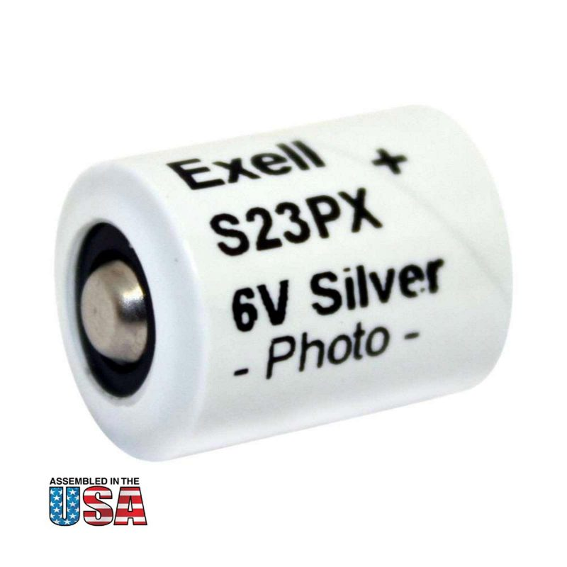 """Photo of Exell Battery """"S23PX"""" 6V Silver Oxide Battery"""