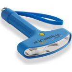 Photo of TripleLite 180 Degree Flashlight Mini Blue w/Wrist Strap