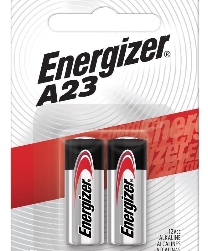 Photo of Energizer A23 12V Zero Mercury, 2pk