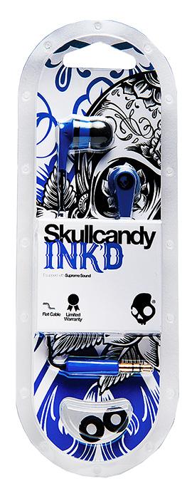Photo of Skullcandy Ink'd 2.0 Earbud w/Mic Blue/Black