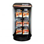 Photo of Energizer 3 Sided Spinner Counter Display