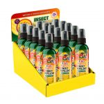 Photo of BugBand Counter Display of 15 (6oz) Geraniol Pump Spray bottles