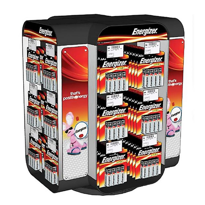Photo of Energizer 4 Sided Spinner Counter Display