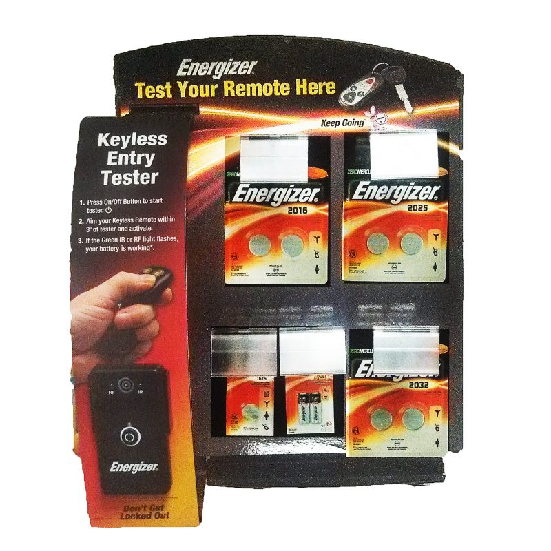 Photo of Energizer Keyless Tester