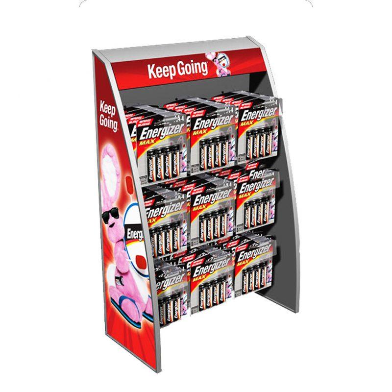 Photo of Energizer 9 Hook Facing Countertop Display