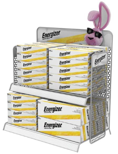 Photo of Energizer Industrial Countertop Display 2 Tier