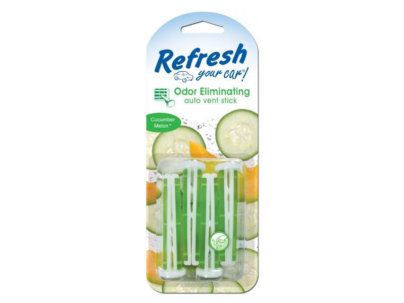 Photo of Refresh Your Car 4pk Vent Sticks – CucumberMelon