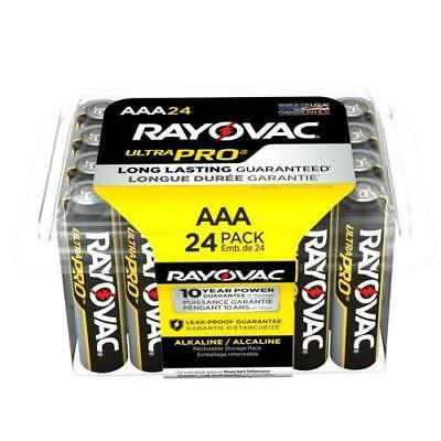 Photo of Ultra Pro™ Alkaline Recloseable AAA 24-Pack