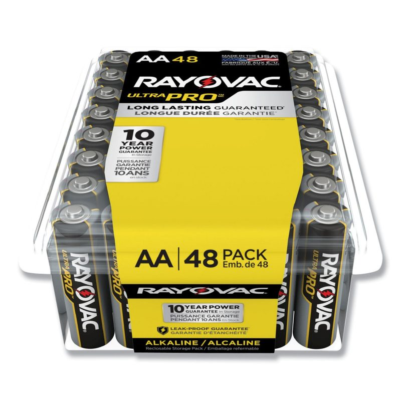 Photo of Ultra Pro™ Alkaline Recloseable AA 48-Pack