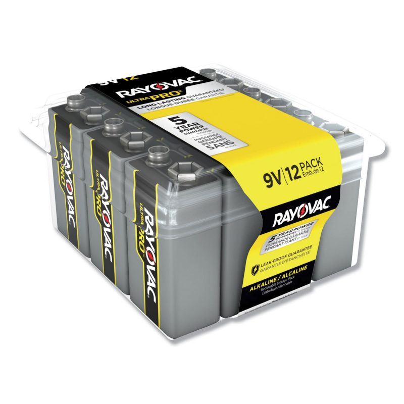Photo of Ultra Pro™ Alkaline Recloseable 9V 12-Pack