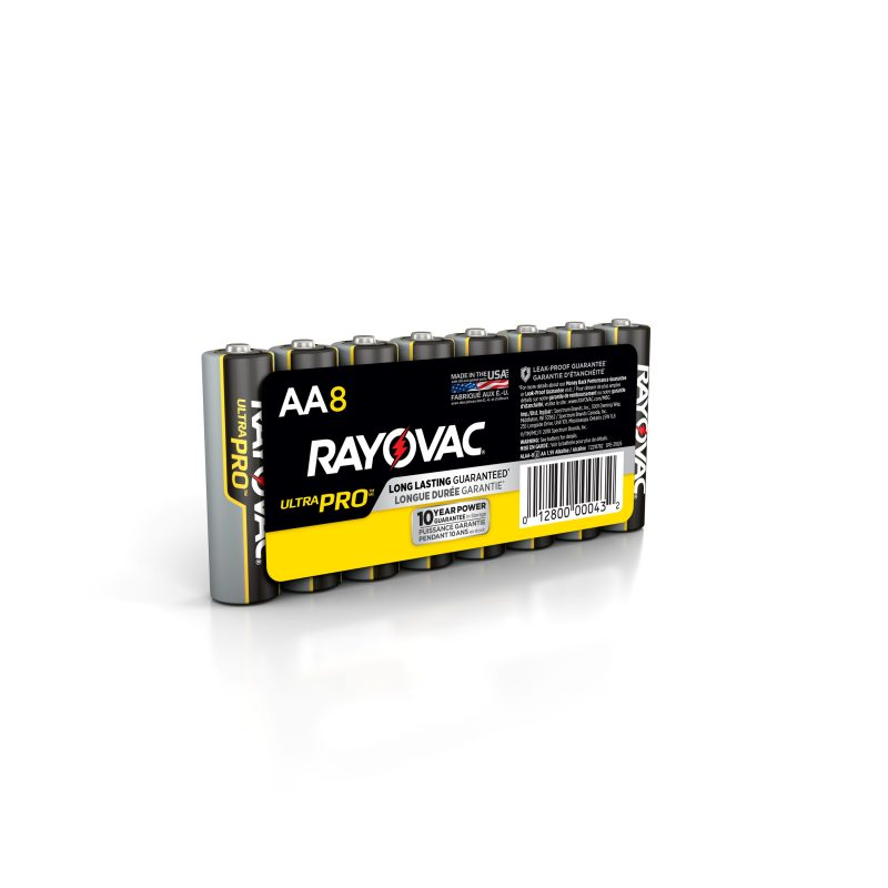 Photo of Ultra Pro™ Alkaline Shrink-Wrapped AA 8-Pack