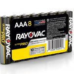 Photo of Ultra Pro™ Alkaline Shrink-Wrapped AAA 8-Pack