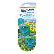 Photo of Refresh Your Car Mini Dual Scent Diffuser Alpine Meadow/Summer Breeze
