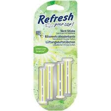 Photo of Refresh Your Car ® Vent Sticks-Lemon Lime Sunshine – 4pk