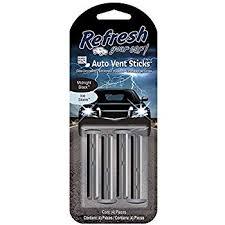 Photo of Refresh Your Car 4pk Vent Sticks Midnight Black