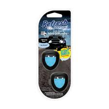 Photo of Refresh Your Car Mini Dual Scent Diffuser Lightning Bolt/Ice Storm