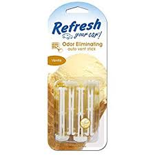 Photo of Refresh Your Car ® Vent Sticks-Spiced Vanilla–4p
