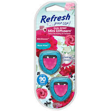 Photo of RefreshYour Car Mini Dual Scent Diffuser Wild Blossoms/Water Prism