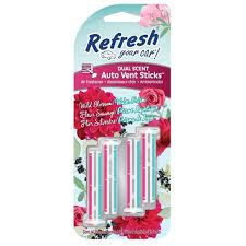 Photo of RYC4pk Vent Sticks –Wild Blossoms/Water Prism