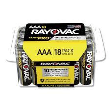 Photo of Ultra Pro™ Alkaline Recloseable AAA 18-Pack