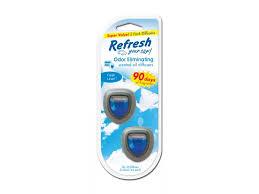 Photo of Refresh Your Car® Mini Diffusers-Fresh Linen –2pk