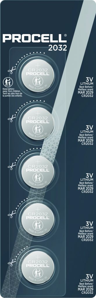 Photo of PC2032 Procell Specialty Tear Strip