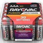 Photo of Rayovac Fusion Alkaline AA , 30pk