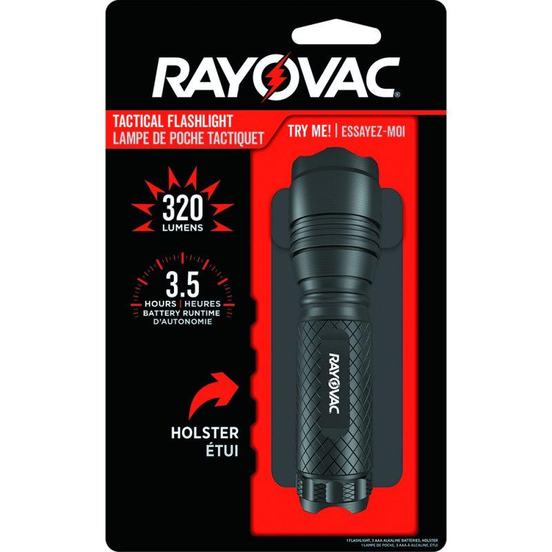 Photo of Rayovac Roughneck 3AAA Aluminum Body LED Tactical Flashlight
