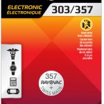 Photo of RAYOVAC® Silver Watch/Electronic Battery 303/357 1 Pack