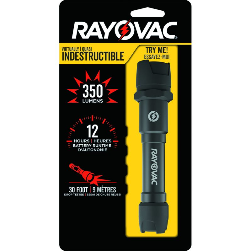 Photo of Rayovac Virtually Indestructible 300 Lumen LED Flashlight