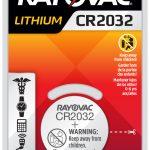 Photo of RAYOVAC® Lithium Keyless 2032, 1 Pack