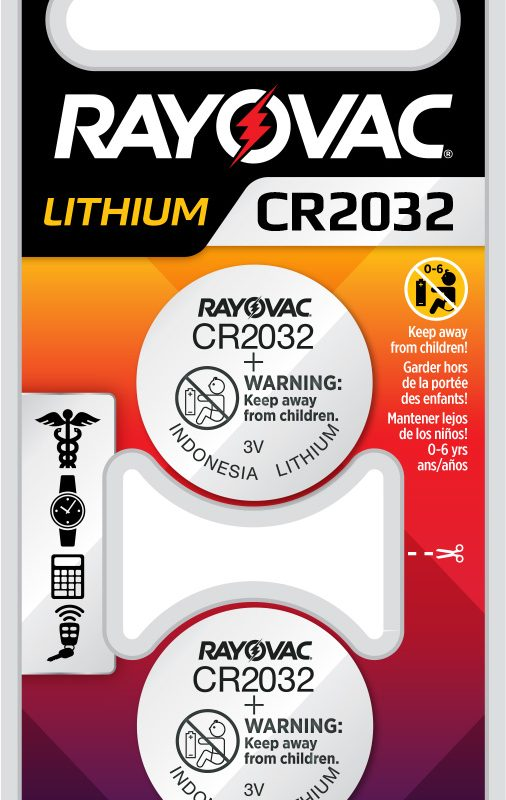 Photo of RAYOVAC® Lithium Keyless 2032, 2 Pack