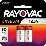 Photo of RAYOVAC® Photo Lithium Battery 123A 2 Pack