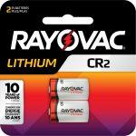 Photo of Rayovac  CR2 Lithium Battery, 2pk
